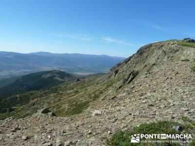 Cuerda Larga desde Pico del Nevero - excursiones fin de semana; rutas senderismo cercedilla